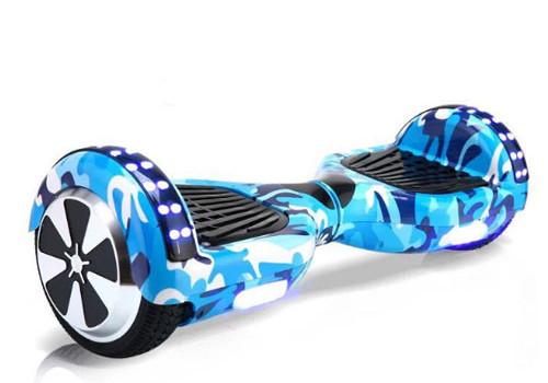 xe điện cân bằng 2 bánh vân xanh