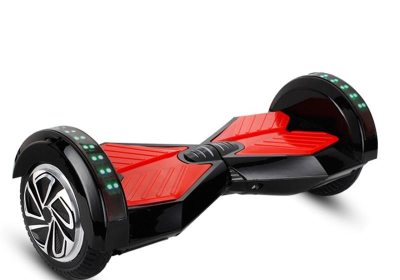 xe điện cân bằng 2 bánh thông minh giá rẻ 8 inch đen