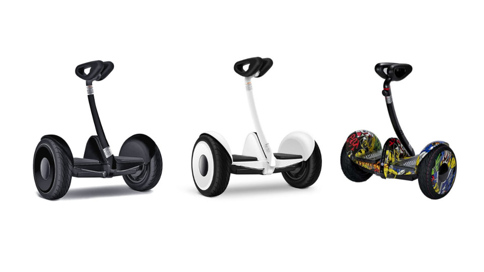 Xe điện cân bằng mini robot