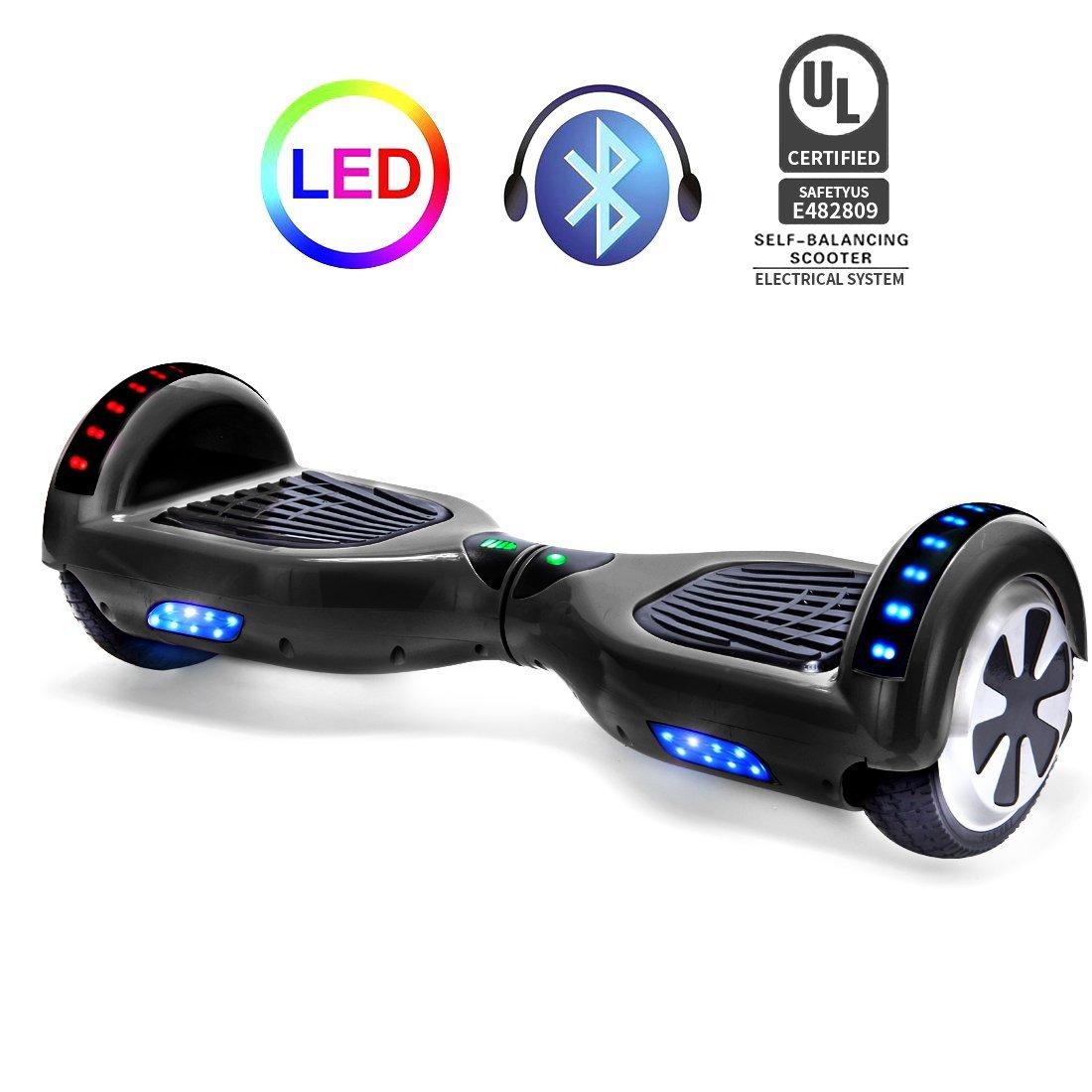 Xe điện đi bộ 2 bánh thông minh đen