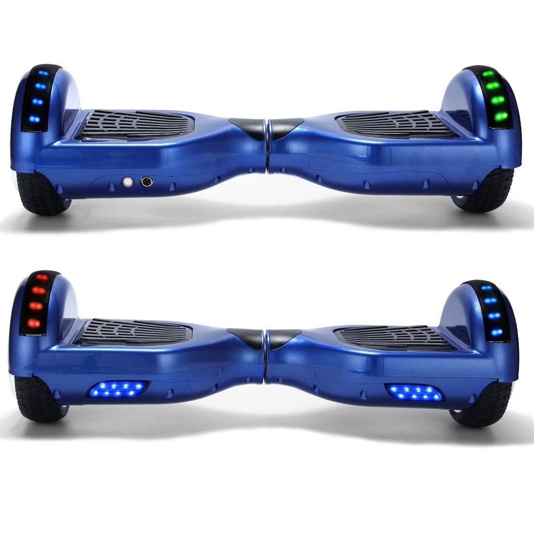 Xe đi bộ 2 bánh chạy điện thông minh xanh 7 màu