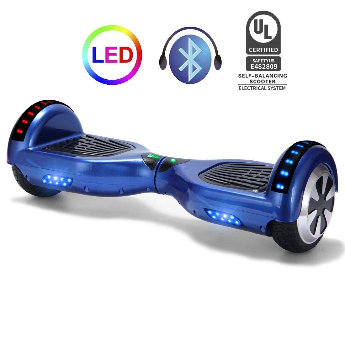 Xe điện đi bộ 2 bánh thông minh xanh bluetooth