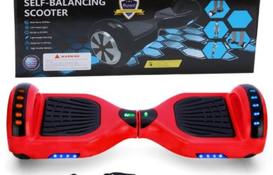 Xe điện đi bộ 2 bánh thông minh đỏ