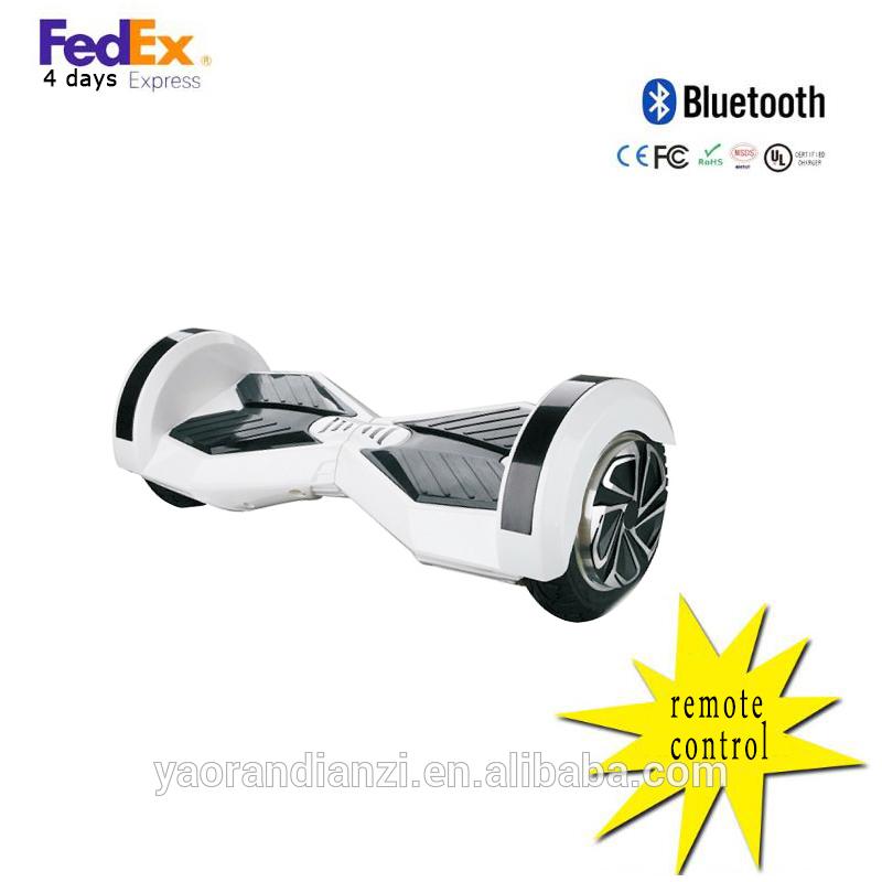 xe trượt điện thăng bằng 8 inch trắng