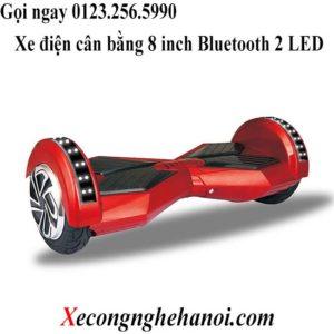 mua xe điện tự thăng bằng 8 inch đỏ đen