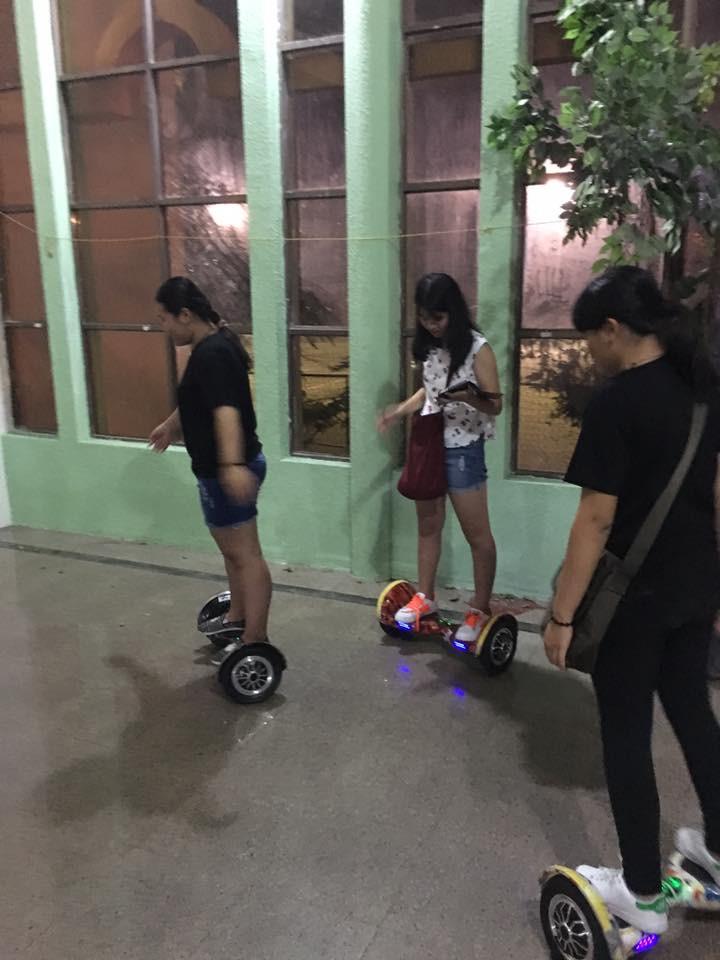 hoverboard xe cân bằng 10 inch êm ái