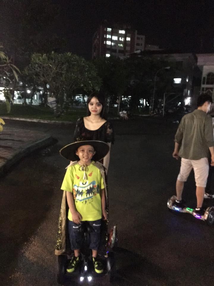 nhảy dab xe điện cân bằng hoverboard 1