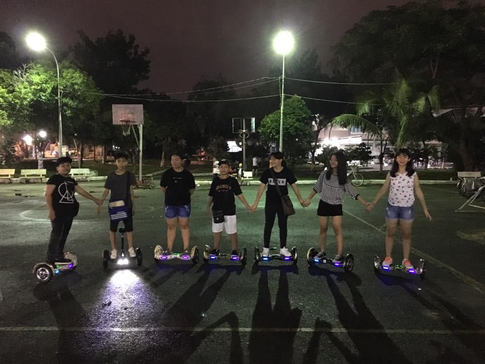 nhảy dab xe điện cân bằng hoverboard