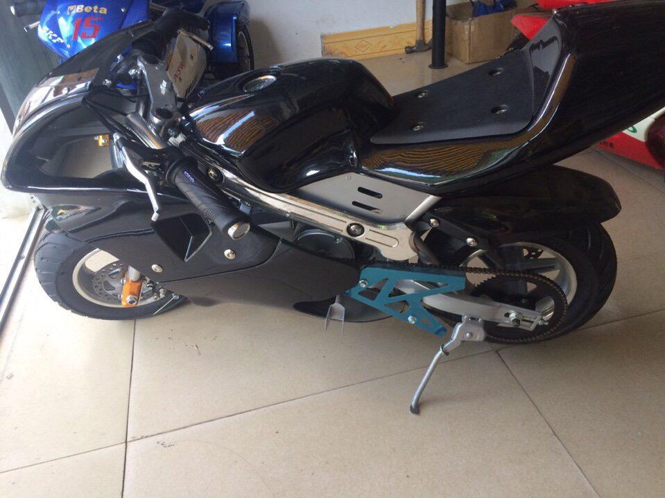 xe moto mini 24v 350w có giảm sóc