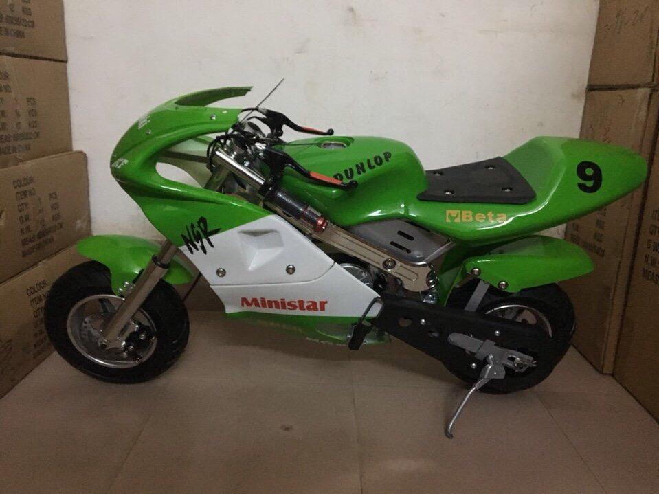 xe moto mini 24v 350w có đề