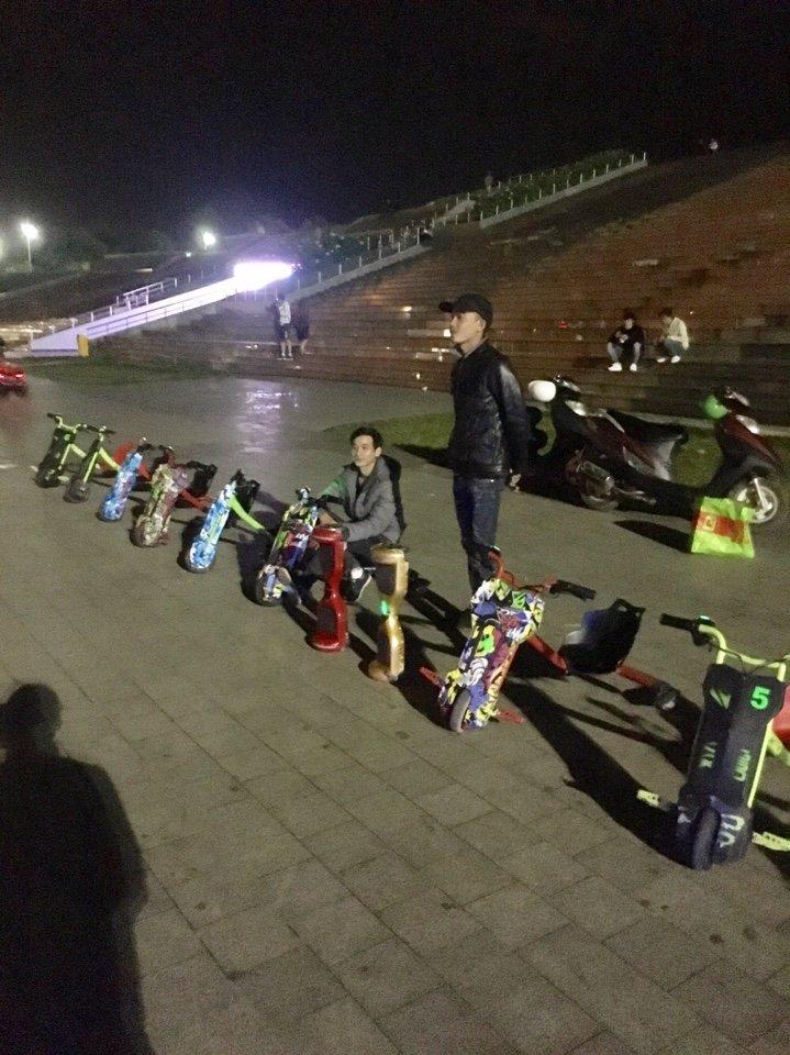xe drift scooter đà lạt lâm đồng