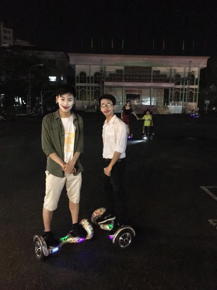 halloween xe điện cân bằng hoverboard