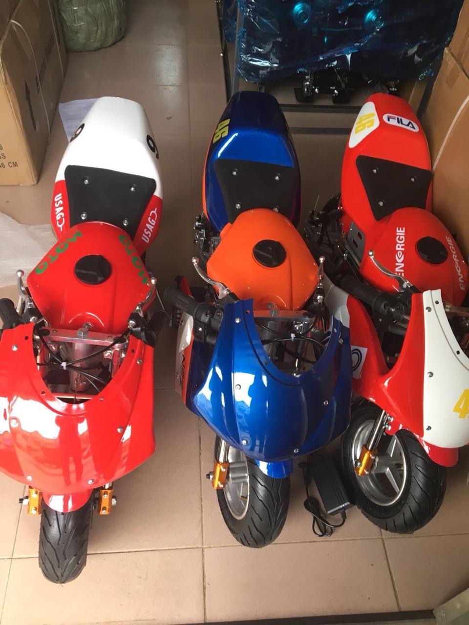 xe moto mini chay acquy 24v