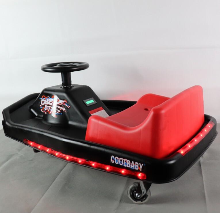 Xe điện 3 bánh trẻ em xe xuồng bay 360 trái