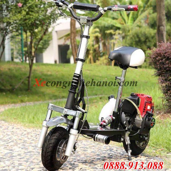 xe-đạp-mini-2-bánh-động-cơ-50cc-2-thì-giá-rẻ