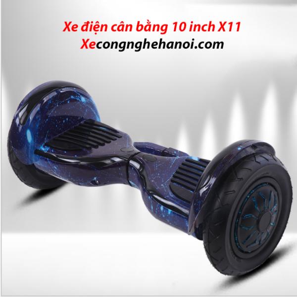 vanh xanh vu tru x11 hoverboard 10 inch xe dien can bang